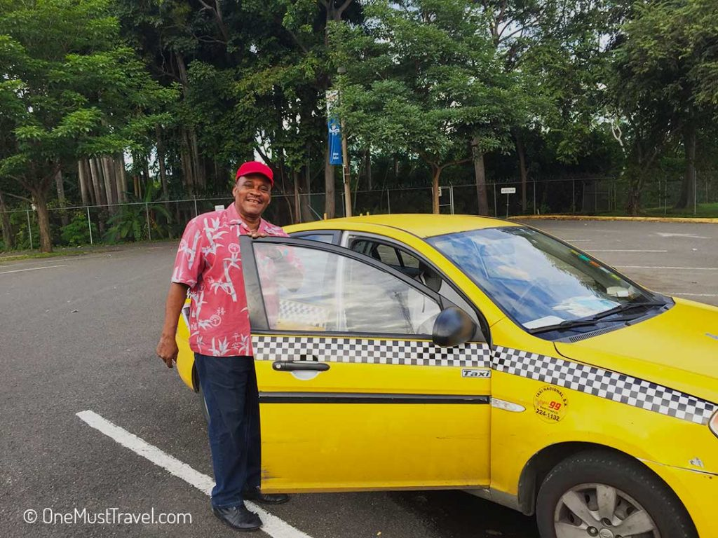 I Found a Great Taxi Driver in Panama City – Here is his Contact Details | One Must Travel