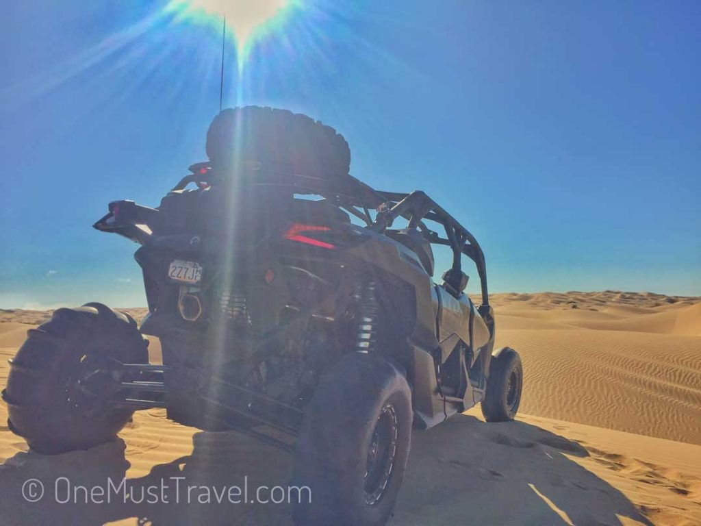 Adventure on a Can Am at the Glamis Sand Dunes
